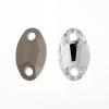 Preciosa Sew-on Mc Oval 2Hole 18x11mm Crystal